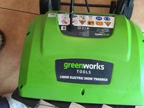 Снегоуборщик электрический Greenworks 26037