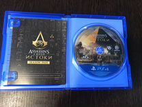 Assassins истоки на PS4