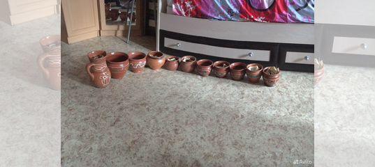 Горшки глиняные купить в Санкт-Петербурге | Товары для дома и дачи | Авито