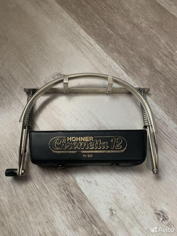 Губная гармошка Hohner Chrometta 12  89208330443 купить 1