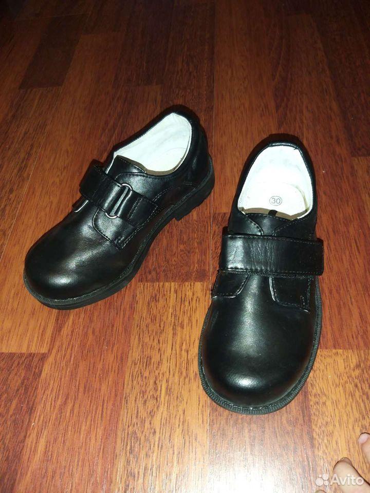 Туфли для мальчика 30 размер  89149176568 купить 2