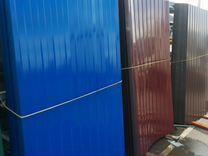 Профнастил С8 1.20х2.00 м толщина 0.37 мм зеленый