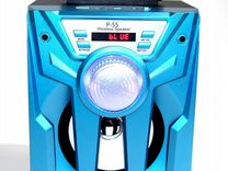 Магнилола бумбокс Wireless P-55 Bluetooth+радио+ак