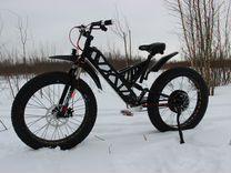 Электровелосипед Fatbike. Электро фэтбайк