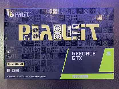 Видеокарта Palit 1660 Super (Без LHR)